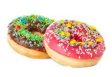 Donutsnärbild Fotografering för Bildbyråer
