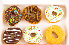 Donutsval royaltyfri fotografi