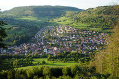 Donzdorf town Stock Photography
