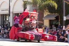 Doo Dah Parade Giant Cat Royalty Free Stock Photo