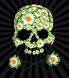 Dood in bloemen Royalty-vrije Stock Foto's