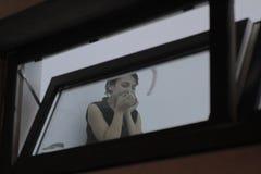 27 dood in de nachtclubbrand van Boekarest Colectiv Stock Afbeelding