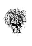 Dood met prikkeldraad vector illustratie