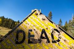 Dood teken Stock Afbeeldingen