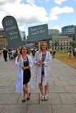 Dood van Bewijsmateriaal Maart in Ottawa Royalty-vrije Stock Fotografie