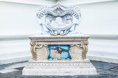 Dood van Boedha, Standbeeld in Wat Pariwat, in Thailand om het even welk soort Royalty-vrije Stock Afbeeldingen