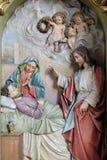 Dood van Saint Joseph Royalty-vrije Stock Fotografie