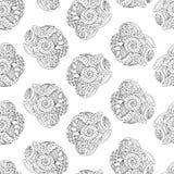 doodle άνευ ραφής Στοκ φωτογραφίες με δικαίωμα ελεύθερης χρήσης