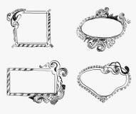 doodle πλαίσια Στοκ φωτογραφίες με δικαίωμα ελεύθερης χρήσης