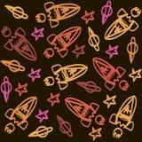 Doodle космоса Стоковые Фотографии RF