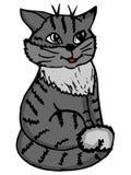 Doodle кота Стоковые Изображения RF