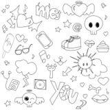 doodle предназначенный для подростков Стоковые Фотографии RF