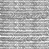 Doodle хлещет безшовную картину Стоковое Изображение RF