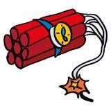 doodle δυναμίτης Στοκ φωτογραφία με δικαίωμα ελεύθερης χρήσης