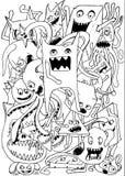 doodle Стоковые Изображения RF