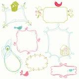 doodle γλυκό πλαισίων Στοκ Εικόνα