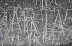Сочинительство Doodle на фасаде Стоковое фото RF