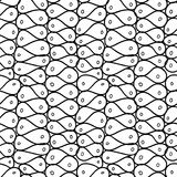 Doodle abstract mesh. Seamless pattern. Royalty Free Stock Photos