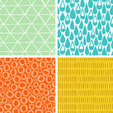 Doodle abstract patterns part 2 Royalty Free Stock Photography