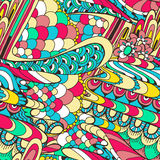Doodle. Abstraction seamless pattern. Royalty Free Stock Photo