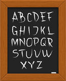 Doodle alphabet. Royalty Free Stock Photography