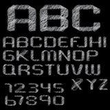 Doodle alphabet Stock Images