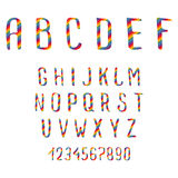 Doodle Alphabet Royalty Free Stock Images