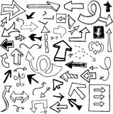 Doodle Arrows Stock Photos