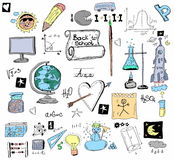 Doodle Back to school Royalty Free Stock Images