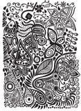Doodle background Royalty Free Stock Image