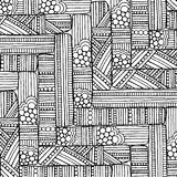 Doodle background pattern. Stock Images