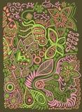 Doodle background Stock Photo