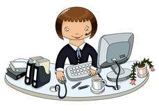 doodle biznesowa kobieta Obraz Royalty Free