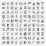 Doodle biznesu ikona Obraz Royalty Free