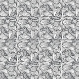 Doodle black line pattern background designs. The art of creative zentangle pattern Stock Image