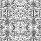 Doodle black line pattern background designs Royalty Free Stock Photos