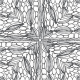 Doodle black line pattern background designs Stock Photo