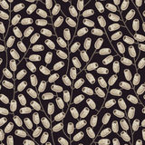 Doodle branches pattern. Stock Photography