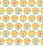 Doodle bright decorative seamless fabric texture   Royalty Free Stock Photo