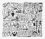 Doodle business element Stock Photos
