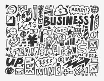 Doodle business element Royalty Free Stock Photo