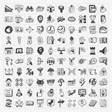 Doodle business icon Stock Photo