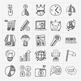 Doodle business icon Royalty Free Stock Photo