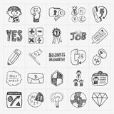 Doodle business icon Stock Photography