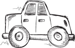 Doodle Car Vector Royalty Free Stock Image