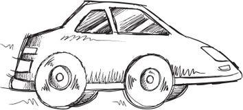 Doodle Car Vector Stock Photo