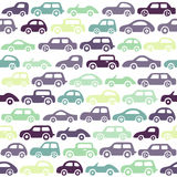 Doodle cars background. Stock Photo