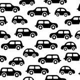 Doodle cars background. Seamless baby boy pattern in vector. Texture for wallpaper, fills, web page background Stock Photo