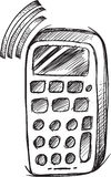 Doodle Cell Phone Vector Stock Photo