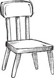 Doodle Chair Vector Royalty Free Stock Photos